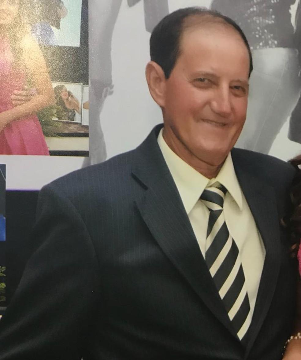 Vandereli Missau foi uma das vítimas do golpista e morreu após ingerir o falso remédio — Foto: Rede Globo/Reprodução