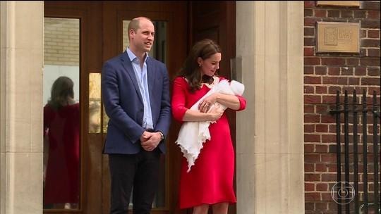 Caçula da realeza britânica ainda não tem nome e casas de apostas lucram