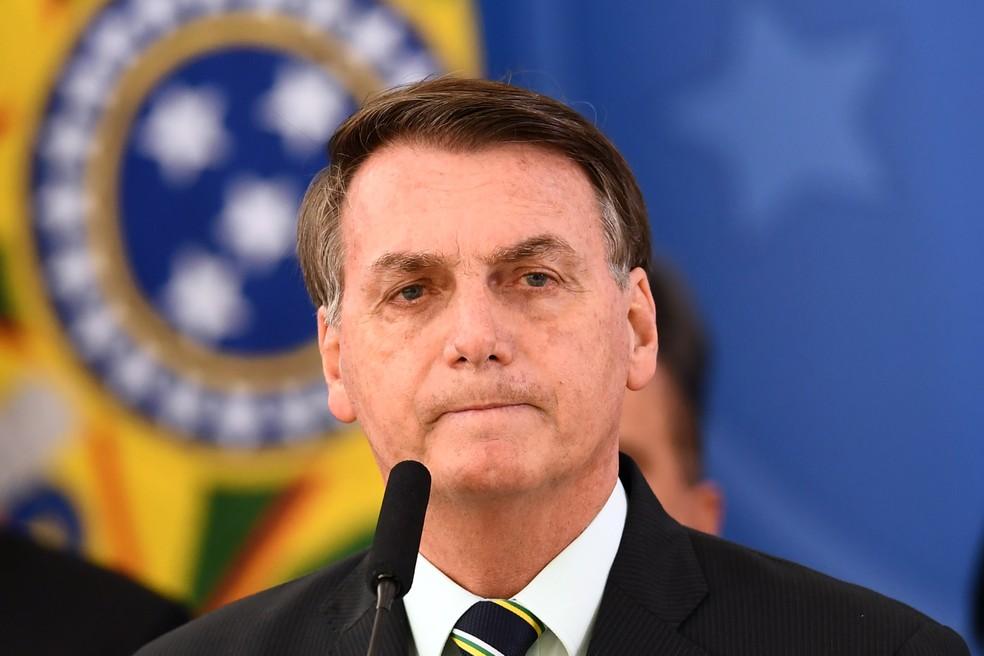 Entrada na OCDE é buscada pelo governo Bolsonaro desde o início, mas agora queda de um de seus principais ministros pode trazer mais dificuldades — Foto: Evaristo Sa/AFP