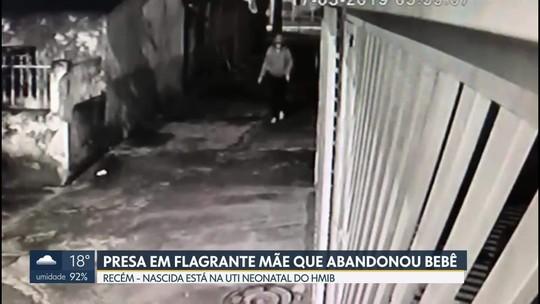 Mulher que abandonou bebê em canteiro de flores no DF disse que foi 'ato de desespero' e se arrepende