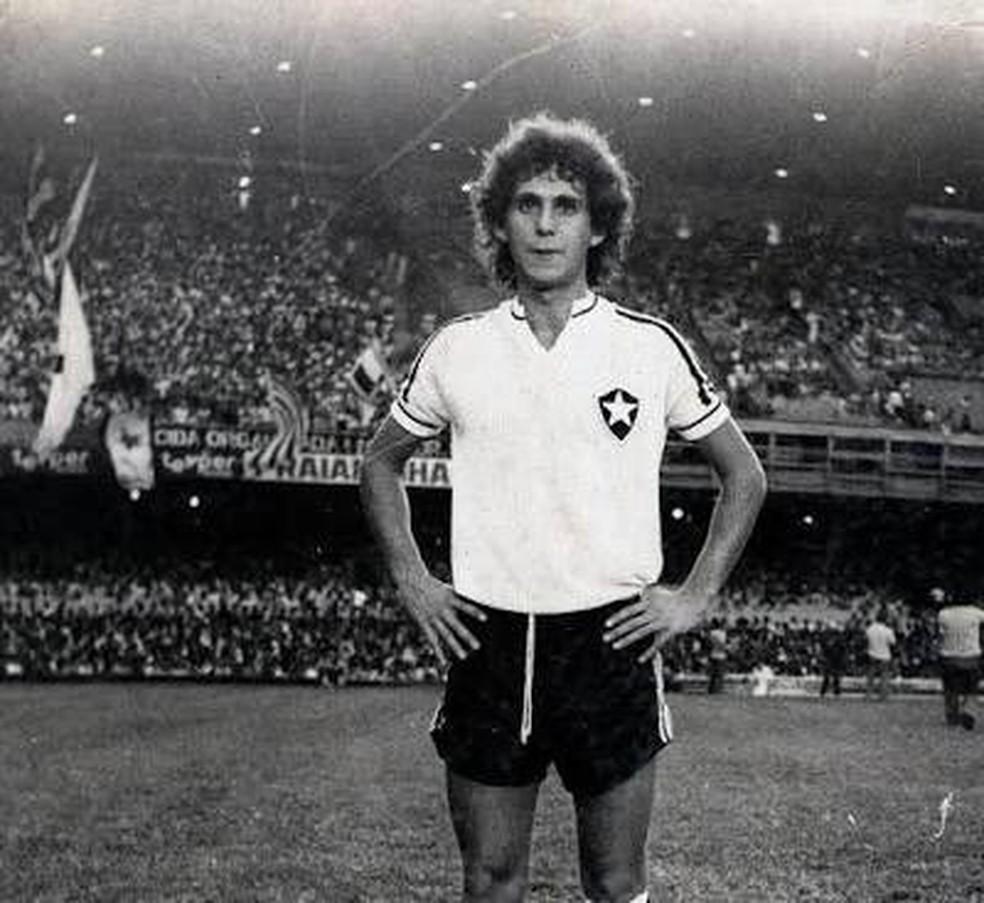 Mendonça, ex-jogador do Botafogo,  — Foto: Divulgação