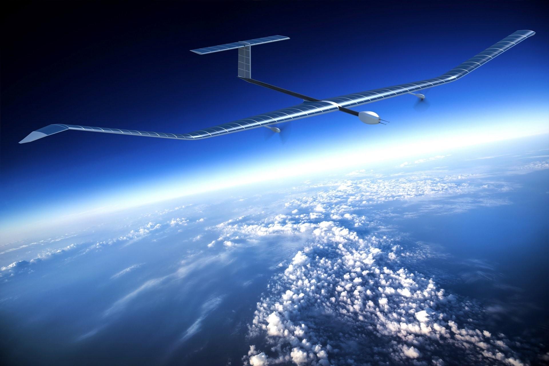 Drone Zephyr modelo S, da Airbus, movido a energia solar (Foto: Divulgação)