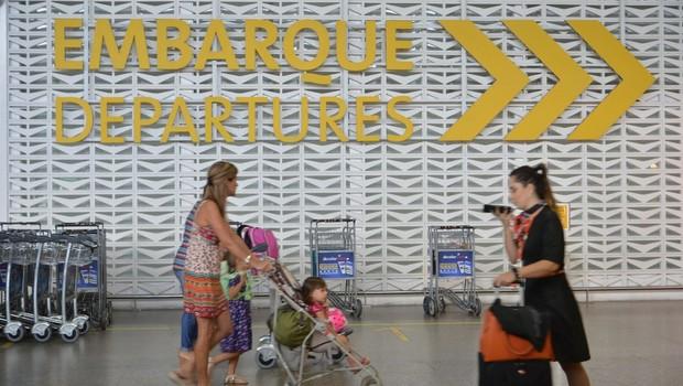 O Aeroporto Internacional de São Paulo - aviação - embarque - viagem  (Foto: Rovena Rosa/Agência Brasil)