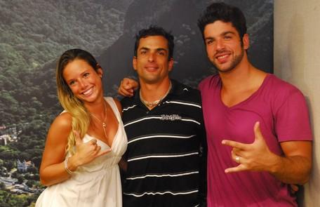 A 10ª edição contou com ex-participantes e foi vencida Marcelo Dourado, que tinha passado pelo 'BBB' 4. Ele teve 60% dos votos. Fernanda (29%) e Cadu (11%) completaram o pódio Reprodução