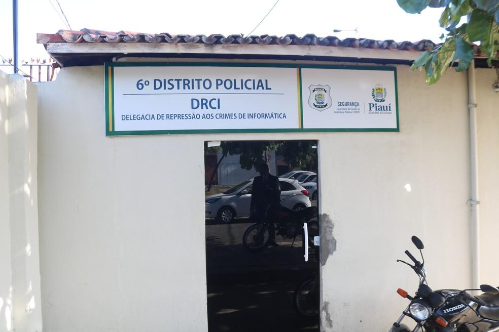 6º Distrito Policial (6º DP), na Zona Sul de Teresina — Foto: Lucas Marreiros/G1