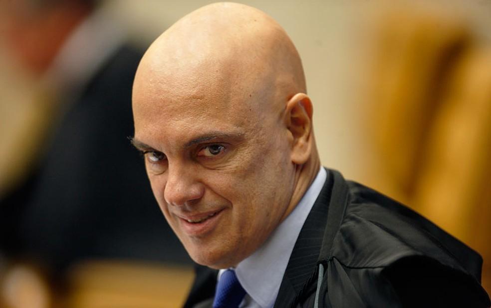 O ministro Alexandre de Moraes, do Supremo Tribunal Federal (STF) — Foto: Rosinei Coutinho/SCO/STF