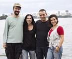 Heitor Martinez com Denise Crispum, Beto Brown e Camila Caputti   Márcio Martins