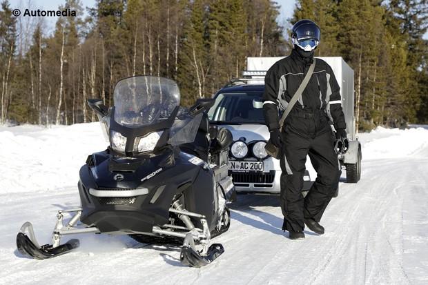 Lynx Snowmobile (Foto: Automedia)