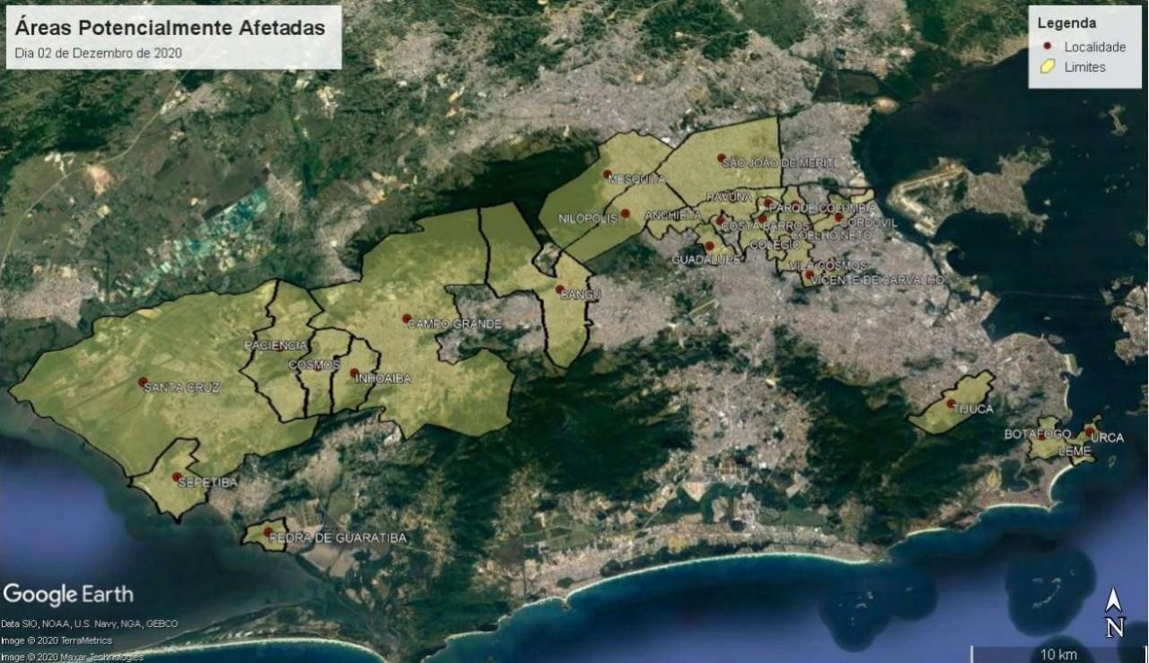 Falta d'água pode atingir 22 bairros e 3 cidades da Baixada nesta quarta-feira