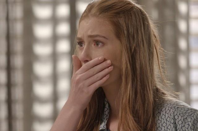 Marina Ruy Barbosa em cena como Eliza em 'Totalmente demais' (Foto: TV Globo)