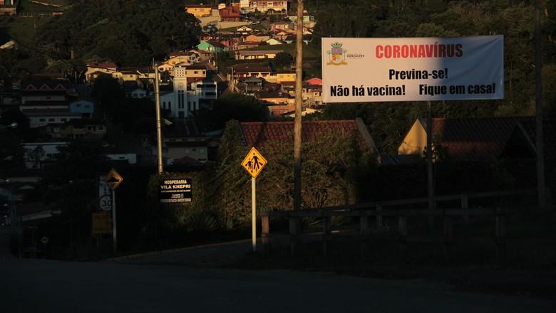 Coronavírus em Gonçalves, Minas Gerais (Foto: Prefeitura de Gonçalves/Divulgação)