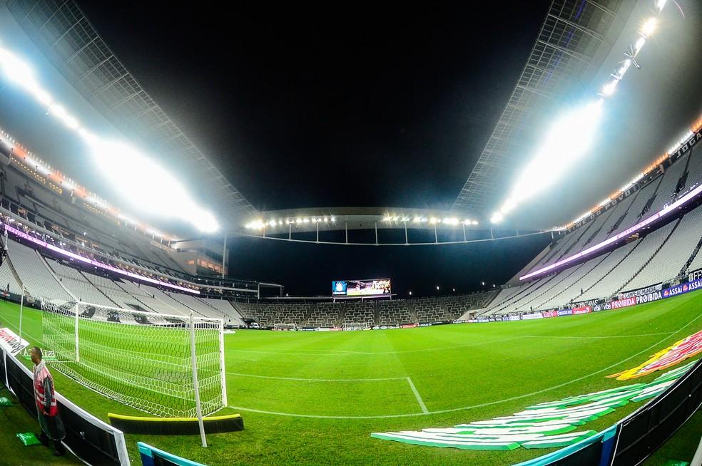 29c1db5fe ... Arena receberá partida entre Corinthians x Ceará nesta quarta-feira —  Foto: Renato Pizzutto