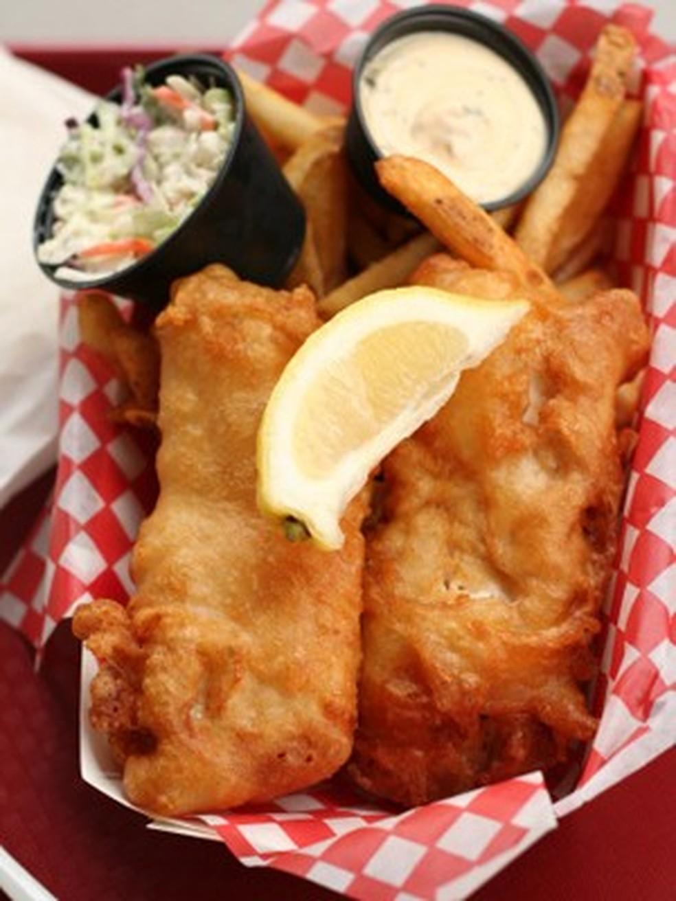 Filé de peixe frito | Receitas Gshow | Gshow