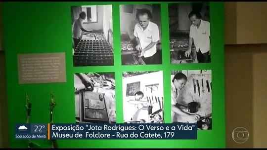 Programe-se: exposição gratuita do cordelista Jota Rodrigues no Museu de Folclore no Catete