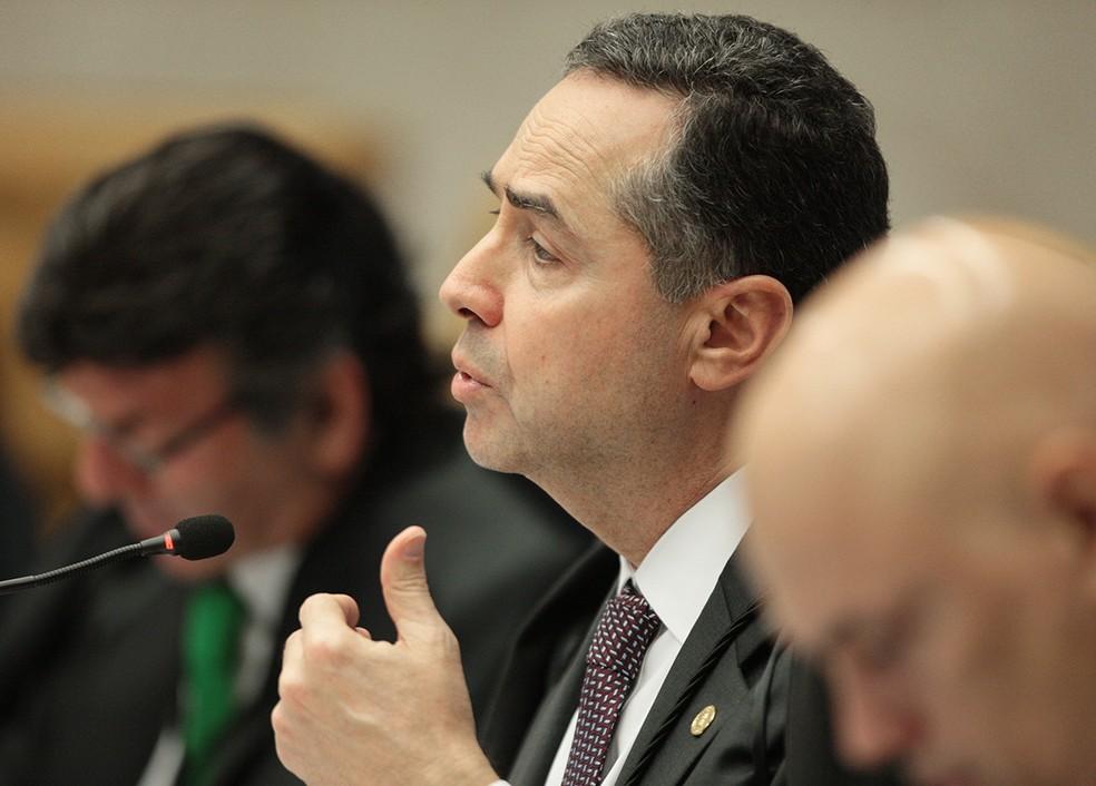 Luís Roberto Barroso, ministro do STF (Foto: Rosinei Coutinho/STF)