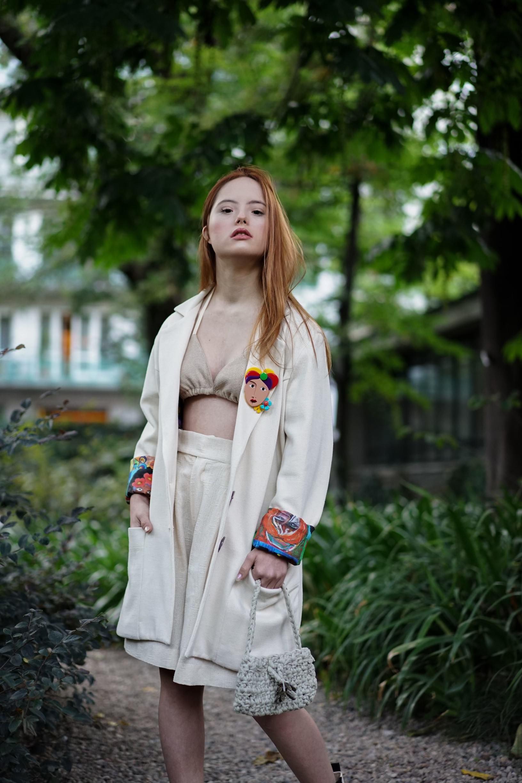 Com síndrome de down, brasileira Maria Júlia brilha na semana de moda de Milão (Foto: Divulgação)