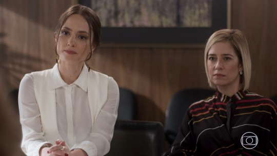 Lara diz que Rita mentiu em juízo e cobra explicações em audiência