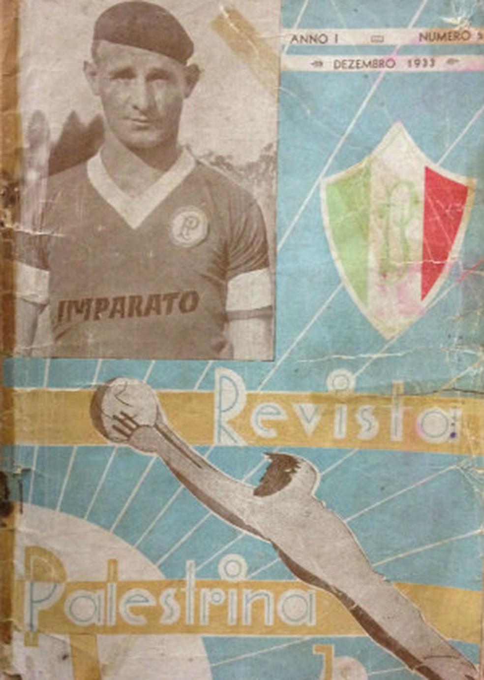 Luiz Imparato foi destaque na revista Palestrina — Foto: Felipe Zito