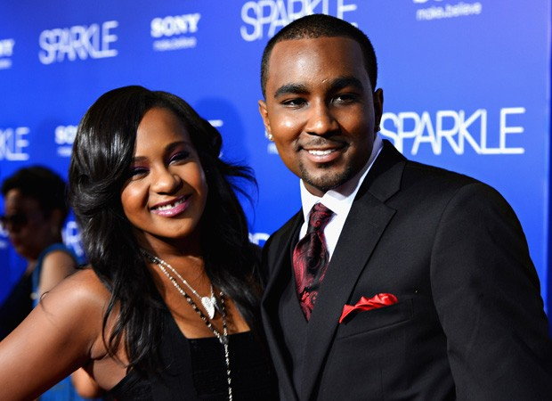 Bobbi Kristina e Nick Gordon em 2012 (Foto: Getty Images)