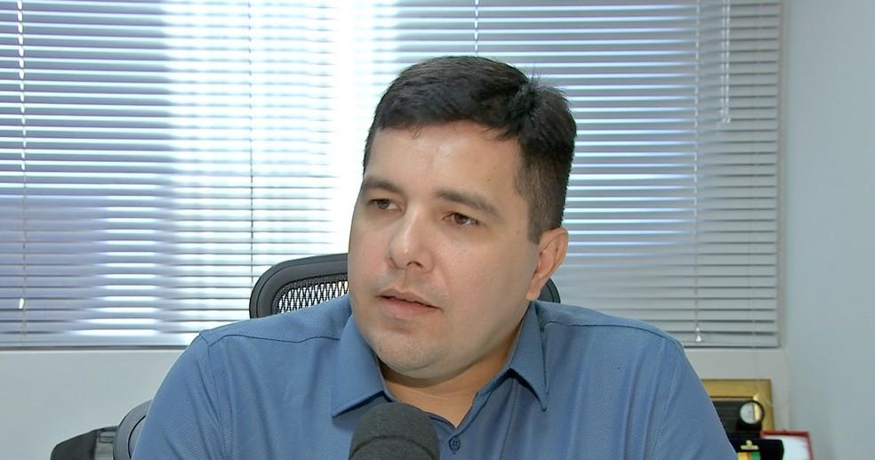 Secretário adjunto da integração operacional da Secretaria de Segurança Pública do Estado de Mato Grosso (Sesp), coronel Victor Fortes — Foto: TVCA
