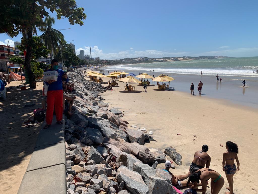 Idema emite licença prévia para obra de enrocamento da Praia de Ponta Negra