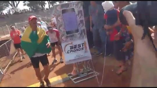 Em 72h, ultramaratonista corre 508,4km na pista, e aguarda registro no Guinness Book