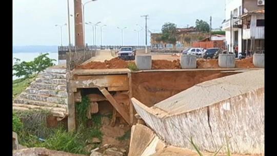 Orla de Tucuruí está abandonada e oferece riscos para visitantes