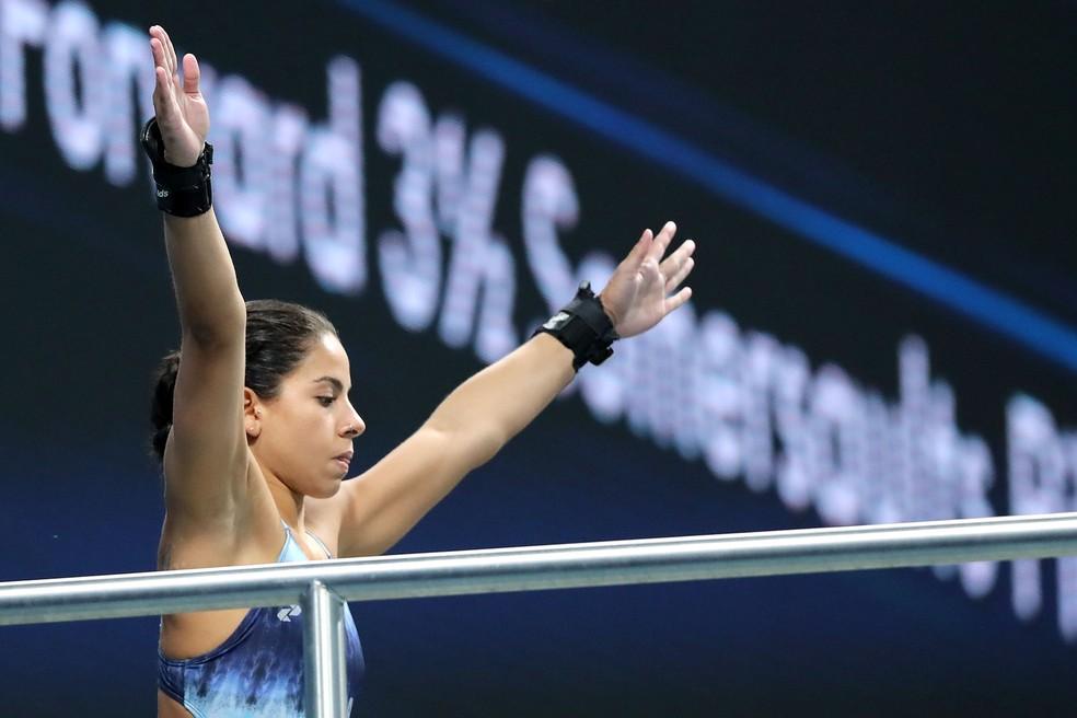 Ingrid Oliveira chegou a receber convite para fazer programas (Foto: Satiro Sodré/SSPress/CBDA)