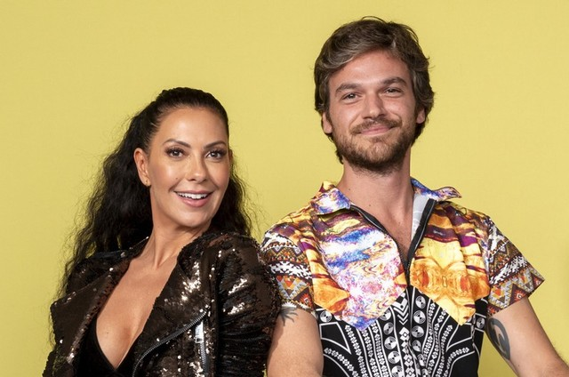 Fabiula Nascimento e Emilio Dantas (Foto: João Cotta/TV Globo)