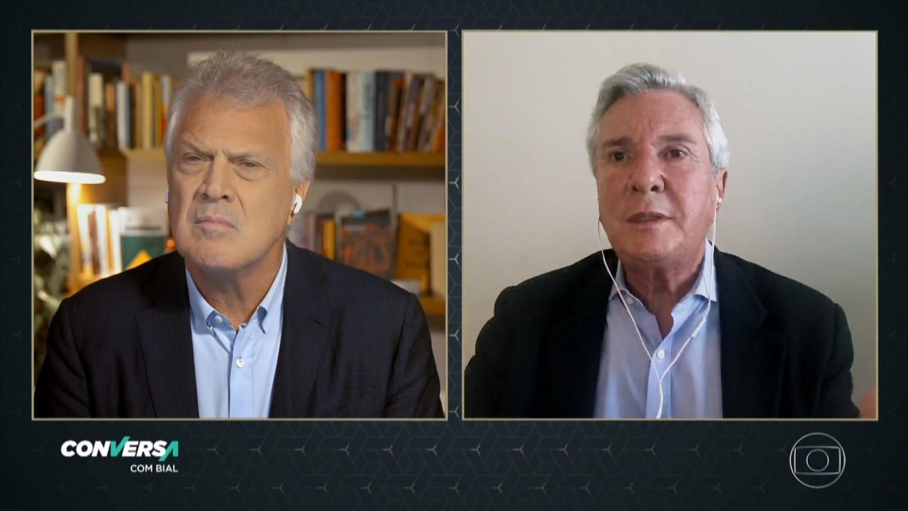 Fernando Collor de Mello comenta recente aproximação de Jair Bolsonaro