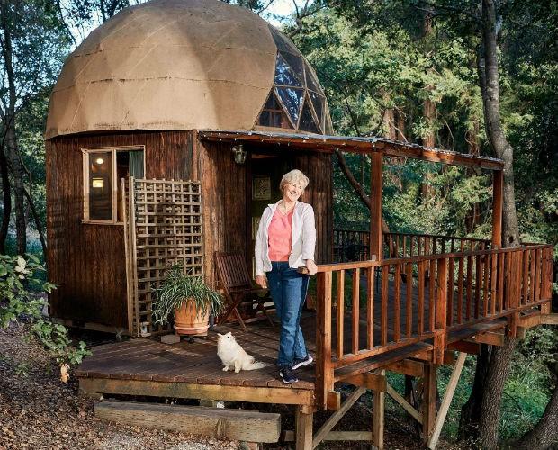 Cabana minúscula é uma das casas mais procuradas do Airbnb no mundo (Foto: Divulgação)
