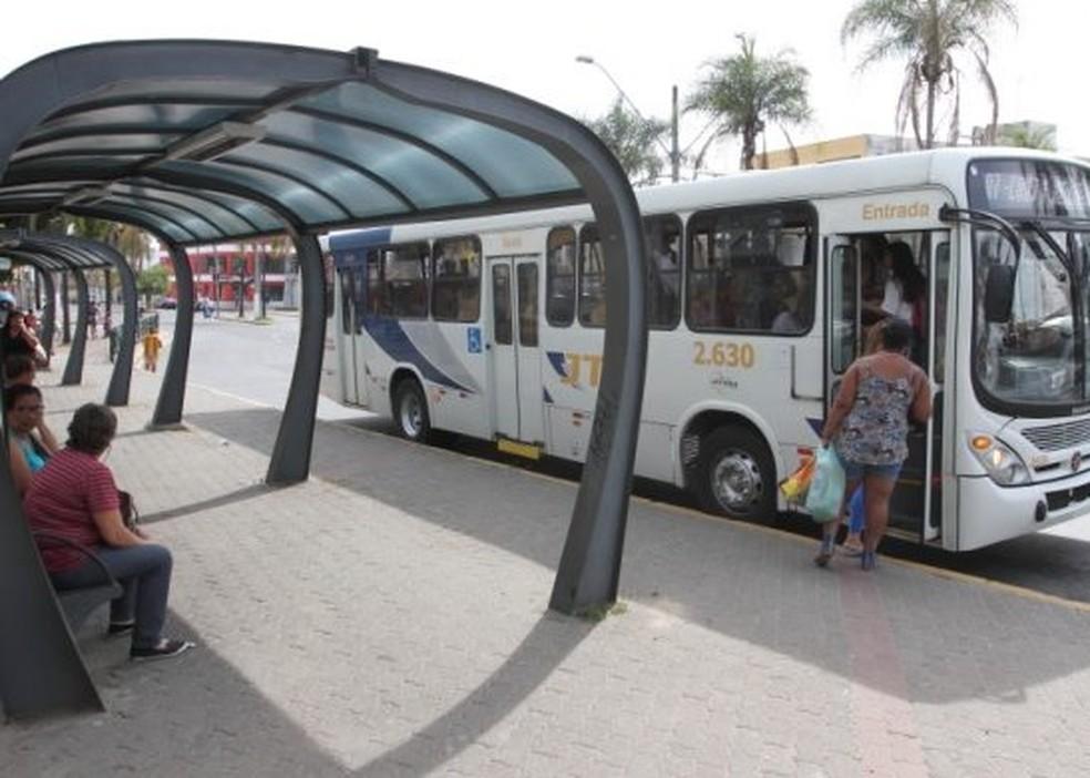 Ônibus em Jacareí (Foto: Alex Brito/Prefeitura de Jacareí)
