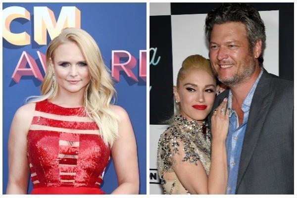 Miranda Lambert, Gwen Stefani e Blake Shelton (Foto: Getty Images)