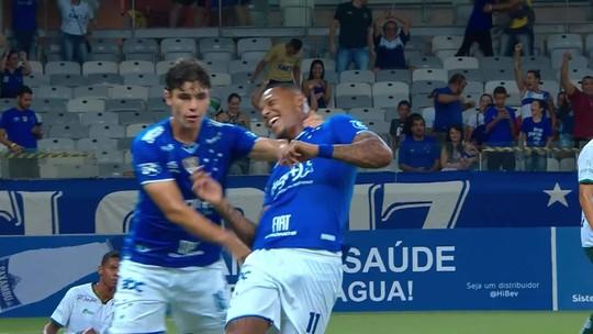 Os gols de Cruzeiro 3 x 0 Caldense, pelo Campeonato Mineiro
