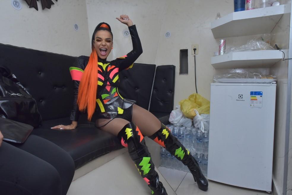 Primeiro dia de carnaval de Salvador 2020 - circuito Barra/Ondina — Foto: Enaldo Pinto/Ag Haack