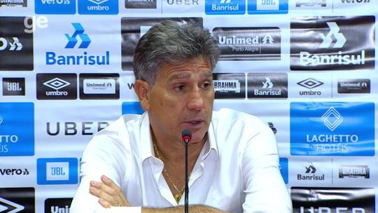 Renato revela papo com Tardelli, que completa sétimo jogo e ganha voto de confiança no Grêmio