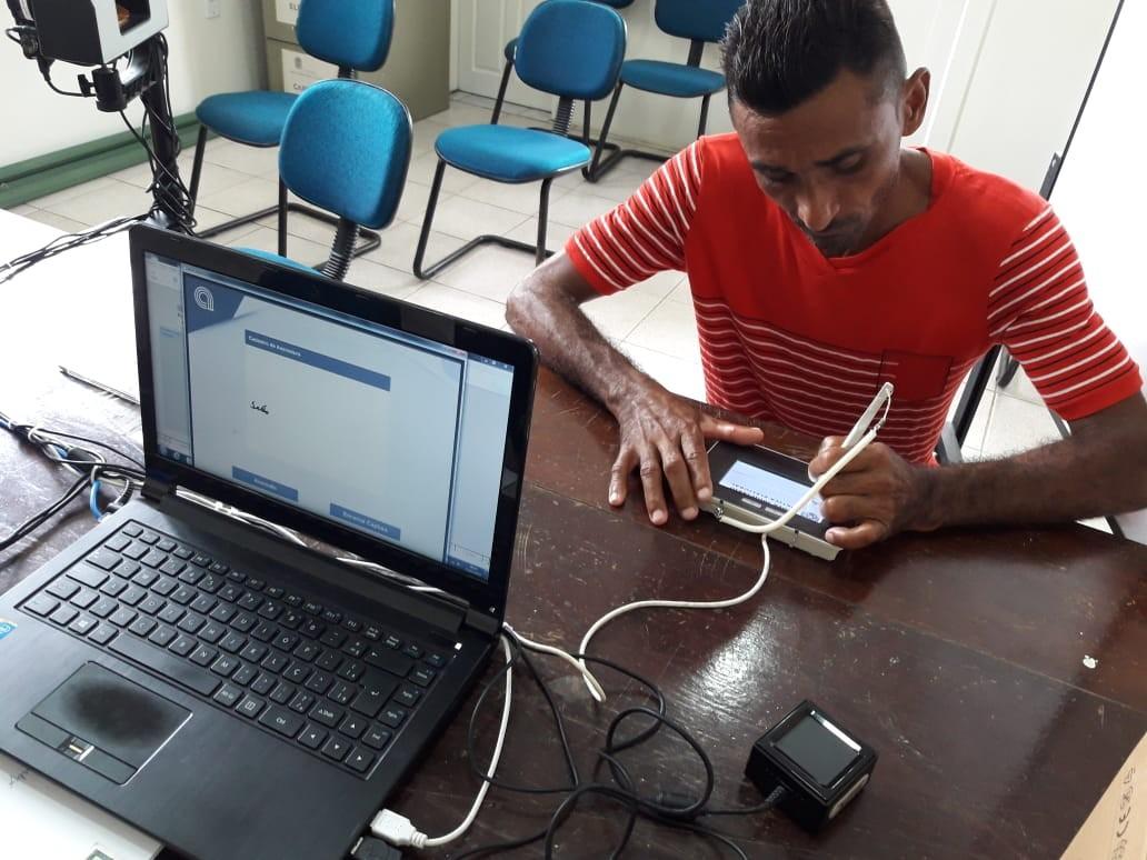TRE-SE disponibiliza Atendimento Biométrico Itinerante para a cidade de São Francisco - Notícias - Plantão Diário