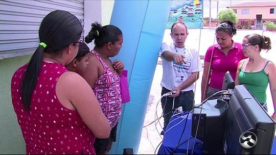 TV Asa Branca realiza ação para tirar dúvidas sobre o sinal digital