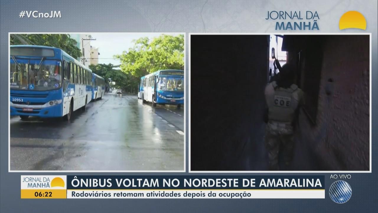 Rodoviários retomam atividades após dias de ocupação no Nordeste de Amaralina