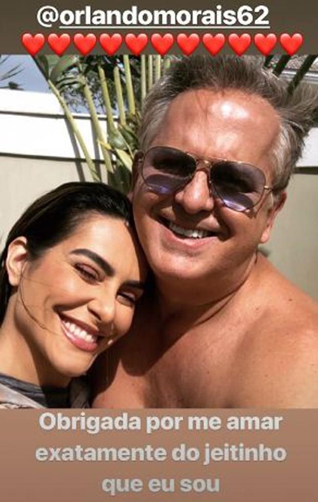 Cleo e Orlando Morais (Foto: Reprodução/Instagram)