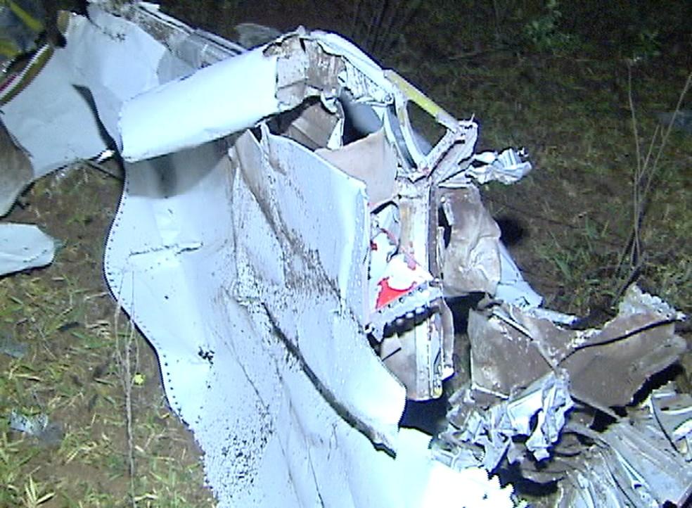 Em 2011, acidente registrado em Marabá Paulista deixou 4 mortos — Foto: TV Fronteira