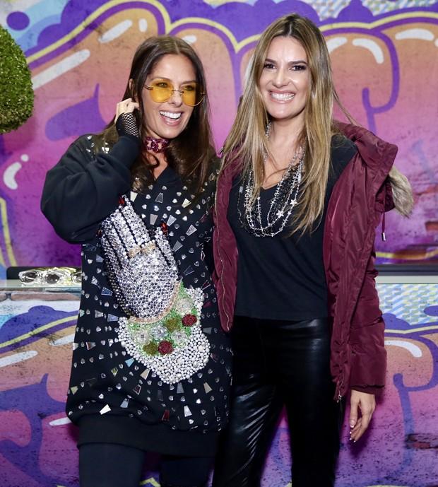 Adriane Galisteu e Andrea Guimarães (Foto: Manuela Scarpa/Brazil News)