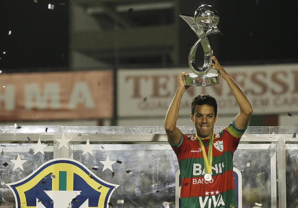 Marco Antônio Portuguesa 2011 — Foto: reprodução