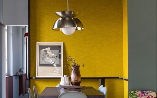 6f2b70837 Top 10 salas de jantar amarelas - Casa Vogue