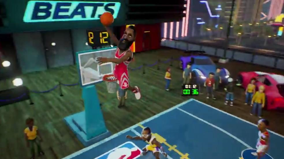Jogo de basquete para pc