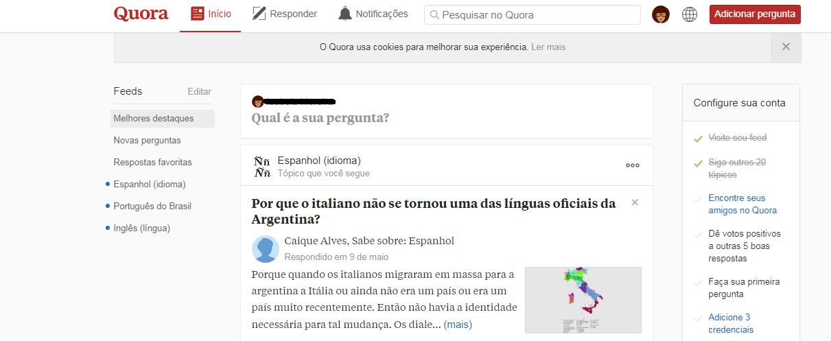 Exemplo de questionamento feito no Quora (Foto: Reprodução/Quora)