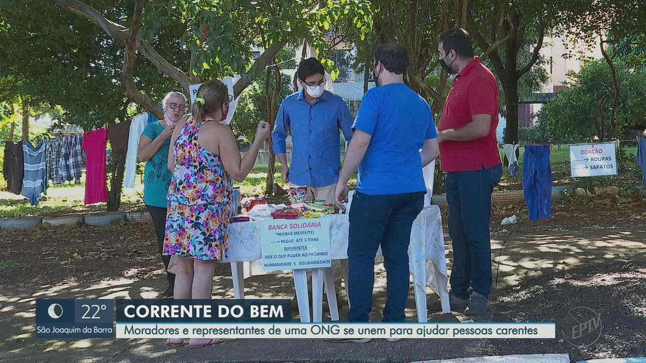 Moradores e ONG se unem para ajudar famílias carentes em Ribeirão Preto
