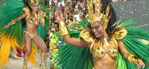 Juliana Paes, rainha de bateria da Grande Rio (Foto: Thyago Andrade/ Brazil News)