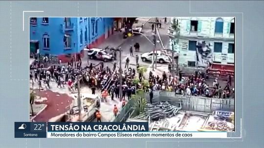 Voluntários que trabalham com dependentes químicos na Cracolândia reclamam de ação policial