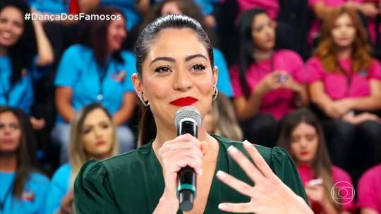 Apresentação de Jonathan Azevedo emociona Carol Castro no 'Dança dos Famosos'